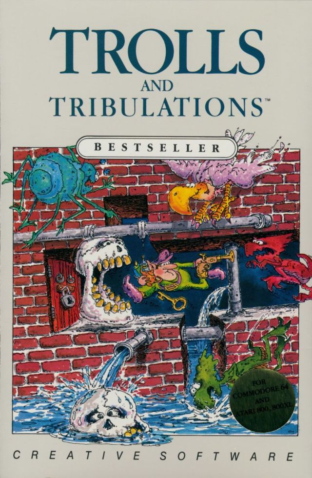 Trolls and Tribulations - Atari 8-bit | Retro1UP Game