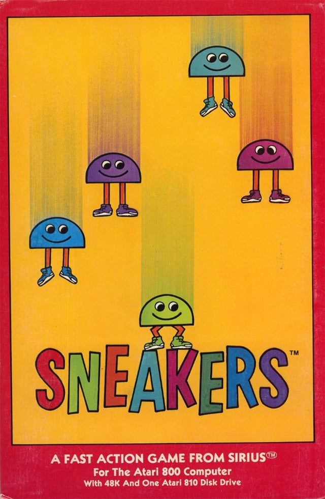 Sneakers - Atari 8-bit | Retro1UP Game