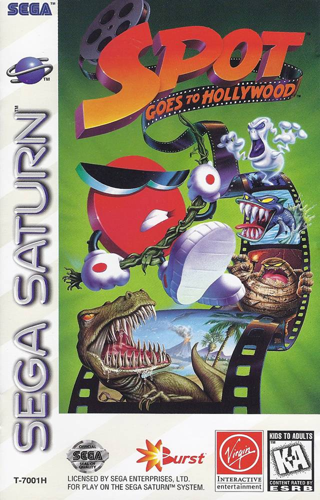 Spot Goes to Hollywood - Saturn | Retro1UP Game