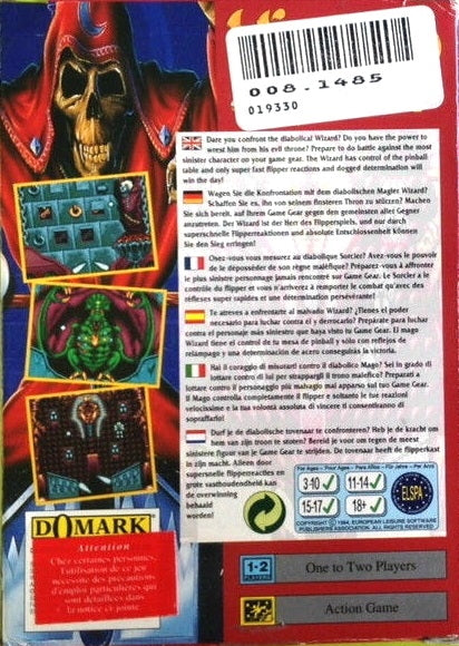Wizard Pinball - GameGear | Retro1UP Game