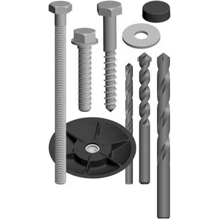 Lockdown Lockdown 222160 Bolt Down Kit Accessory - Steadfast Safes