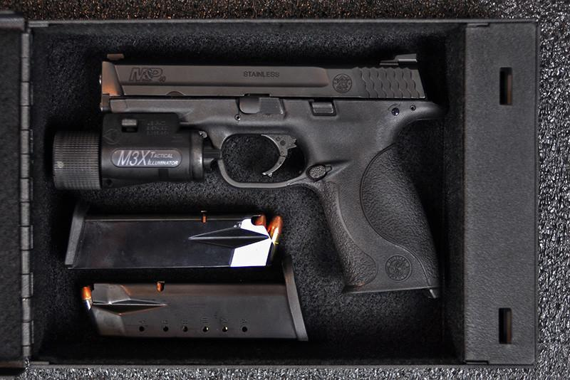 Shotlock ShotLock Handgun 200M Solo-Vault (Mechanical) S-HSV200M Gun Safe - Steadfast Safes