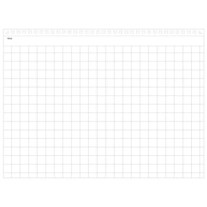 Maruman Mnemosyne A5 Horizontal Notepad (5mm squared)