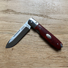Load image into Gallery viewer, Fällkniven Gentleman's Pocket Knife - African Redwood