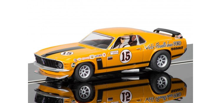 SCALEXTRIC Ford Mustang Boss 302 - 1969 Trans-Am Championship (C3651)