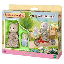 SYLVANIAN FAMILIES Cycling with Mother (4281)