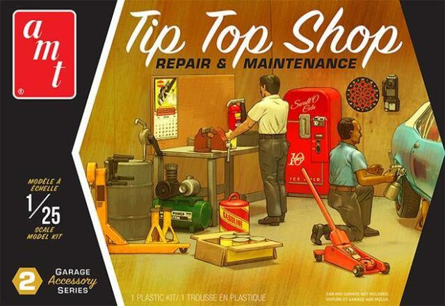 AMT 1/25 Tip Top Shop Repair and Maintenance (amtpp016m)