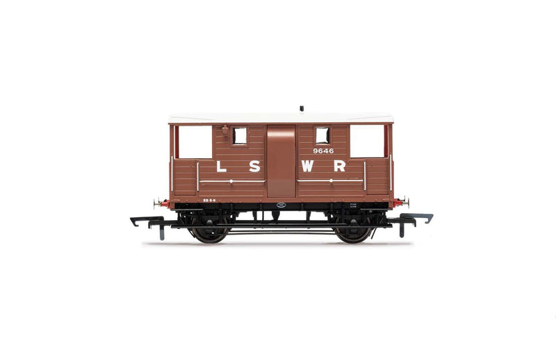 HORNBY LSWR, 20T 'New Van' Goods Brake Van, 9646 - Era 2 (R6911)