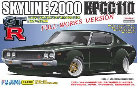 FUJIMI 1/24 ID136 Kenmeri 2-door works specification (038032)