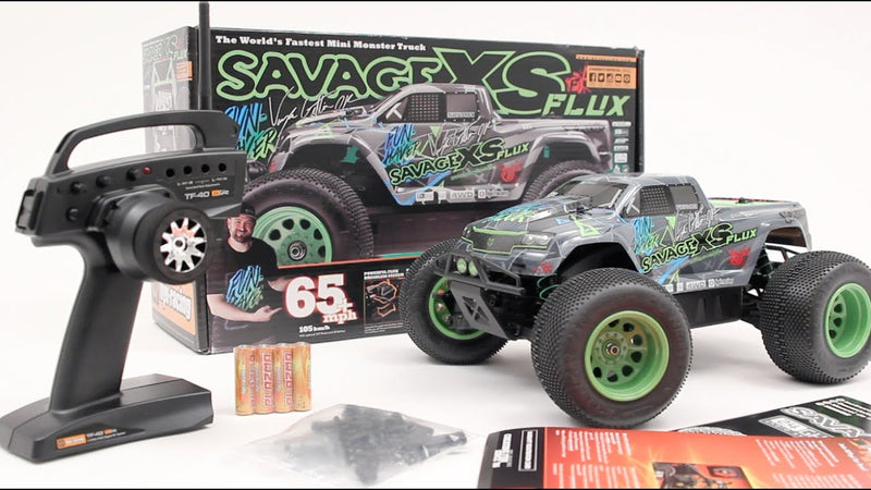 HPI ELECTRIC Savage XS Flux