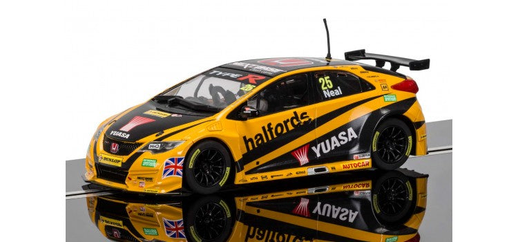 SCALEXTRIC BTCC Honda Civic Type R, Matt Neal (c3861)