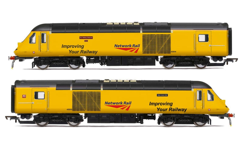 HORNBY Network Rail, Class 43 HST, Power Cars 43013 'Mark Carne CBE' and 43014 'The Railway Observer' - Era 11 (R3769)