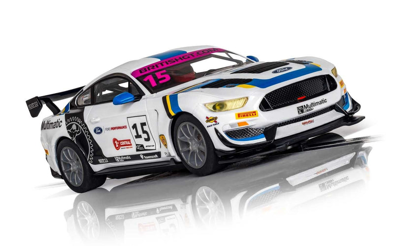 SCALEXTRIC FORD MUSTANG GT4 - BRITISH GT 2019 - MULTIMATIC MOTORSPORTS (C4173)