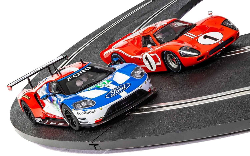 SCALEXTRIC LEGENDS LE MANS 1967 – 50 YEARS OF FORD TWIN PACK - LIMITED EDITION (C3893A)