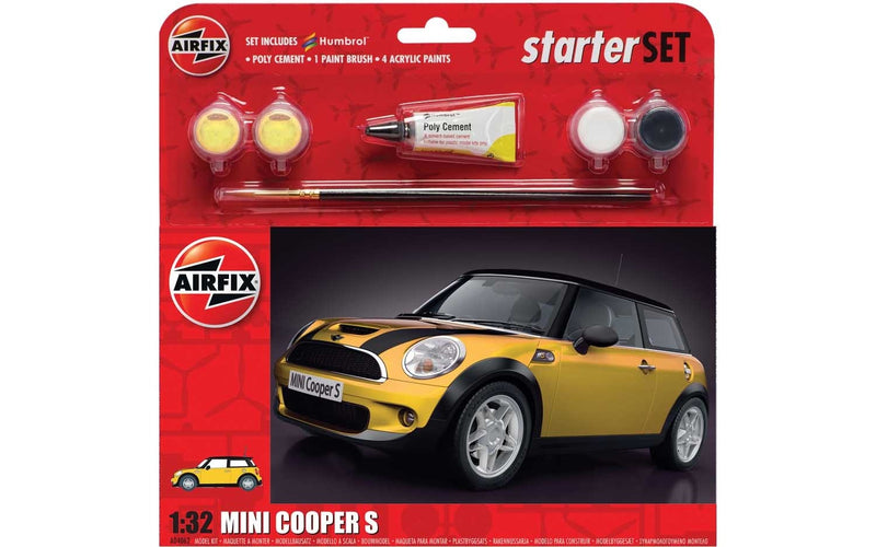 AIRFIX Large Starter Set - 1/32 MINI Cooper S (A55310)