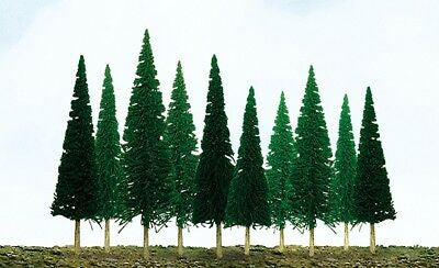 "JTT HO-scale, Scenic Pine, 24/pk, 4"" to 6"" Height (92003)"