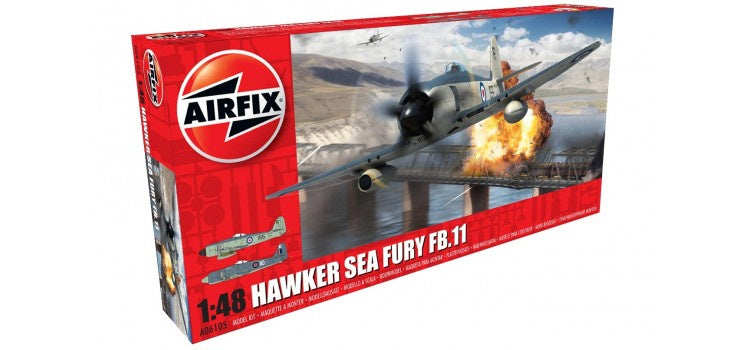 AIRFIX Hawker Sea Fury FB.II 1:48 (A06105)