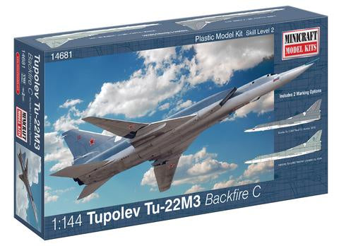 MINICRAFT 1/144 Tupolev Tu-22M3 Backfire C