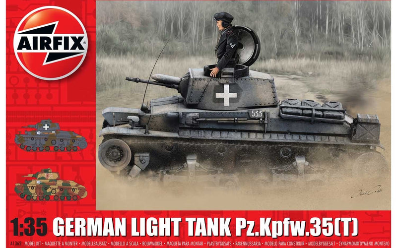 AIRFIX 1/35 German Light Tank Pz.Kpfw.35(t) (A1362)