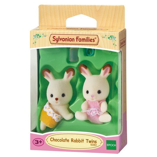 Sylvanian families chocolate rabbit twins (5420)