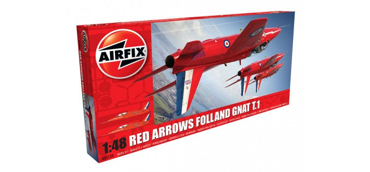 AIRFIX Red Arrows Gnat 1:48 (A05124)