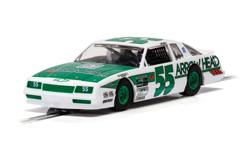 SCALEXTRIC CHEVROLET MONTE CARLO - GREEN & WHITE (C4079)