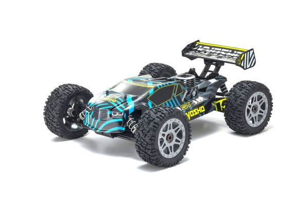 KYOSHO 1/8 Scale Radio Controlled .25 Engine Powered 4WD Stadium Truck INFERNO NEO ST 3.0 w/KT-231P+ (33016)