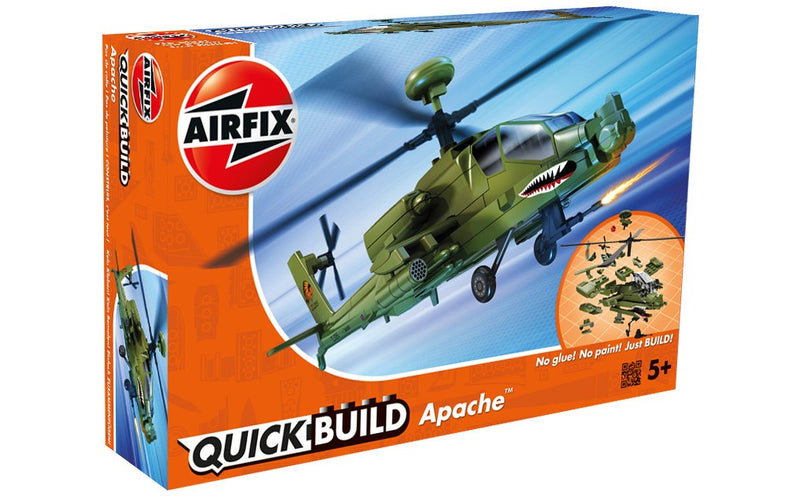 Airfix QUICK BUILD Apache Helicopter (J6004)