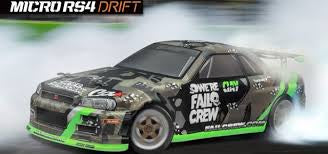 HPI 1/18 ELECTRIC Micro RS4 Drift