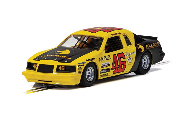 SCALEXTRIC FORD THUNDERBIRD - YELLOW & BLACK NO.46 (C4088)