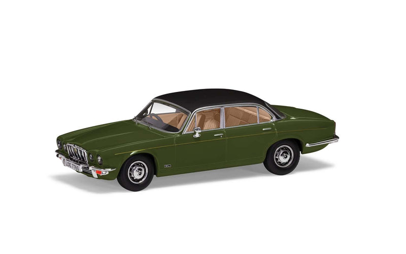 CORGI 1/43 Jaguar XJ12 Series 2 LWB, Juniper Green. (VA13902)