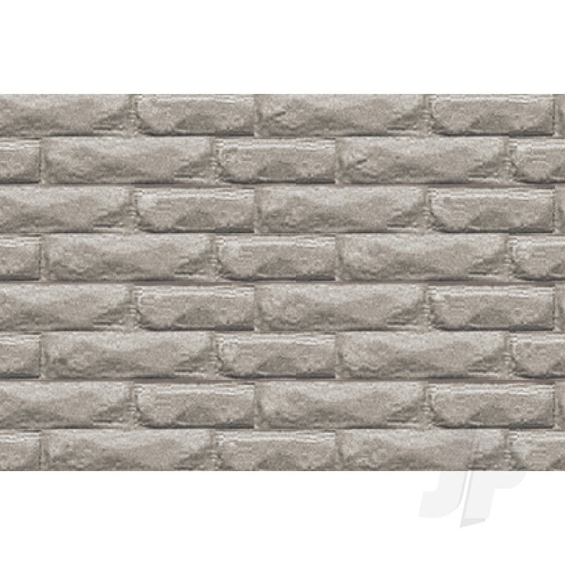 JTT Dressed Stone (Gray), G-scale (1:24) 2/pk (97429)