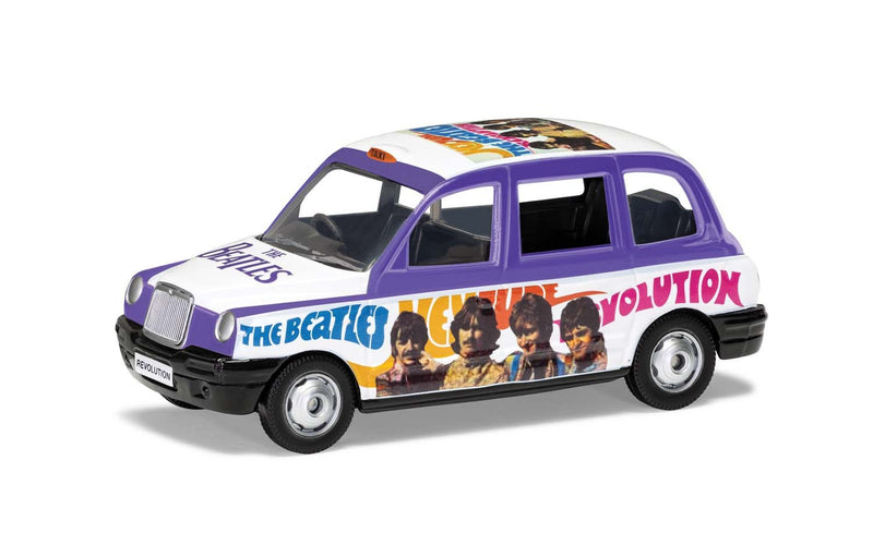 CORGI 1/43 The Beatles - London Taxi - 'Hey Jude' (CC85928)