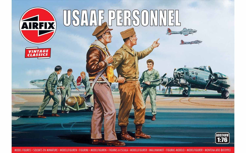 AIRFIX USAAF Personnel 1/76 (A00748V)