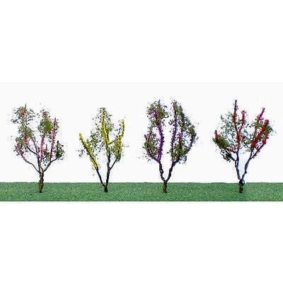 JTT 'O' Flower Trees 1-1/2'' to 2'' Tall (95504)