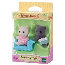 Sylvanian families persian cat twins (5457)