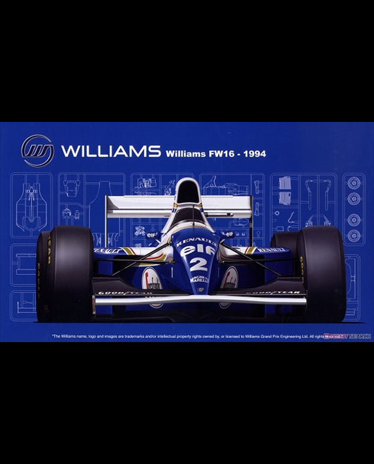 FUJIMI Williams FW16 - 1994 (092126)