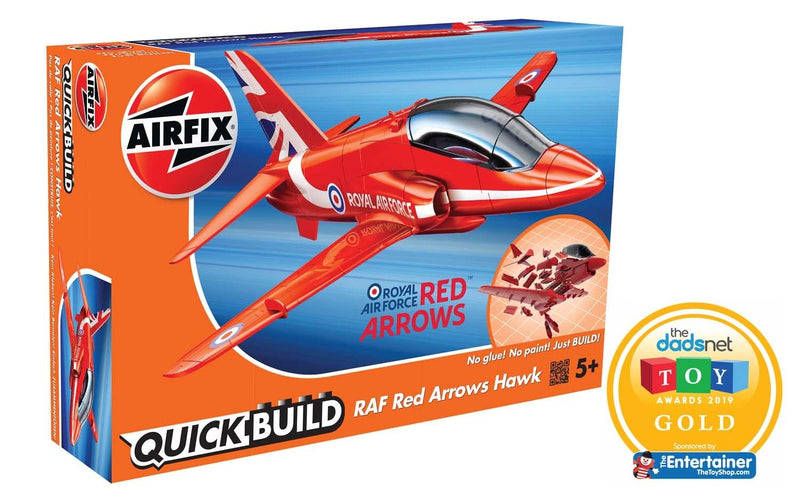 Airfix QUICK BUILD RAF Red Arrows Hawk (J6018)