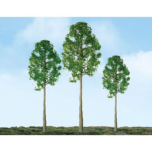 JTT N-Scale Cypress 3'' 3pk (94337)