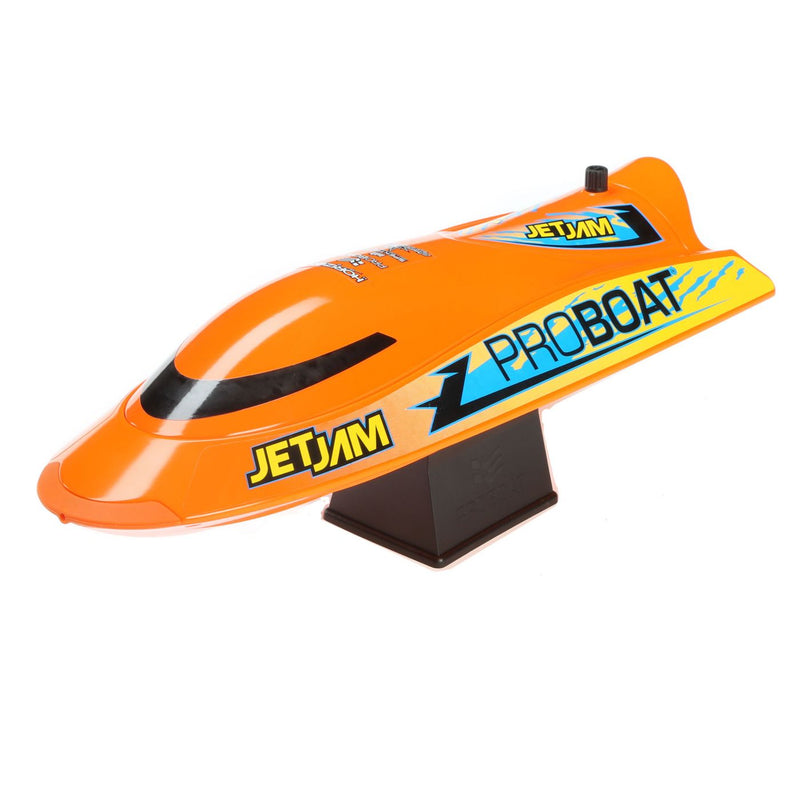 "PROBOAT Jet Jam 12"" Pool Racer Brushed RTR, Orange (PRB08031T1)"