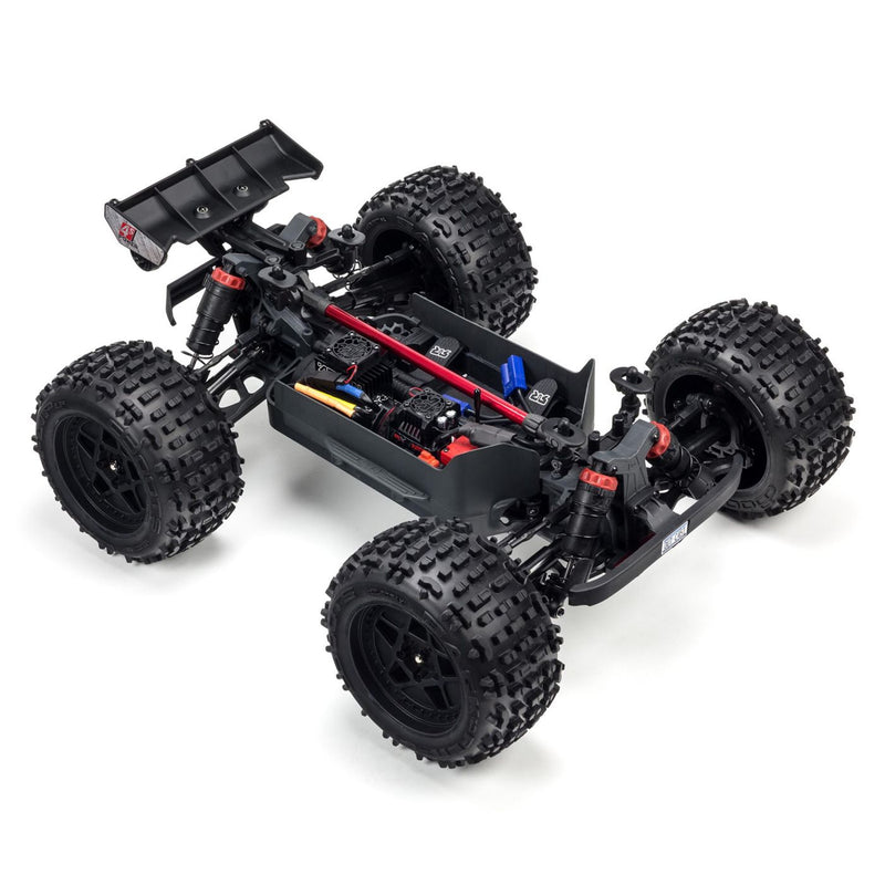 ARRMA 1/10 OUTCAST 4x4 4S BLX Brushless Stunt Truck with Spektrum RTR, Bronze (ARA102692)