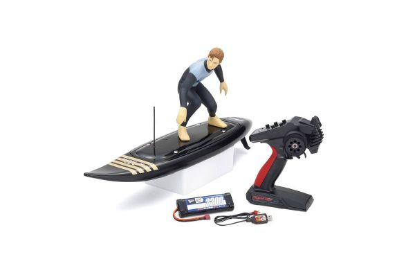 KYOSHO 1/5 RC SURFER4 Color Type2(Black) readyset KT-231P+ 40110T2