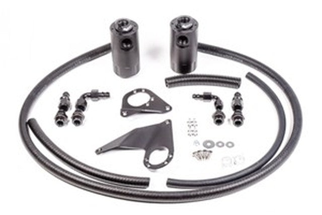 Dual Catch Can Kit, EVO X, 2008-2009