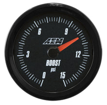 Load image into Gallery viewer, Analog Boost/Fuel Pressure SAE Gauge. 0~15psi