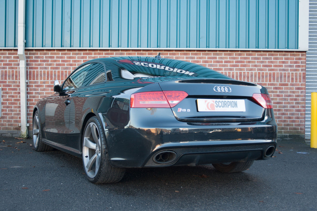 Audi RS4 B8 4.2 FSI Quattro Avant/RS5 4.2 V8 Coupe  - Resonated half system inc active exhaust valve