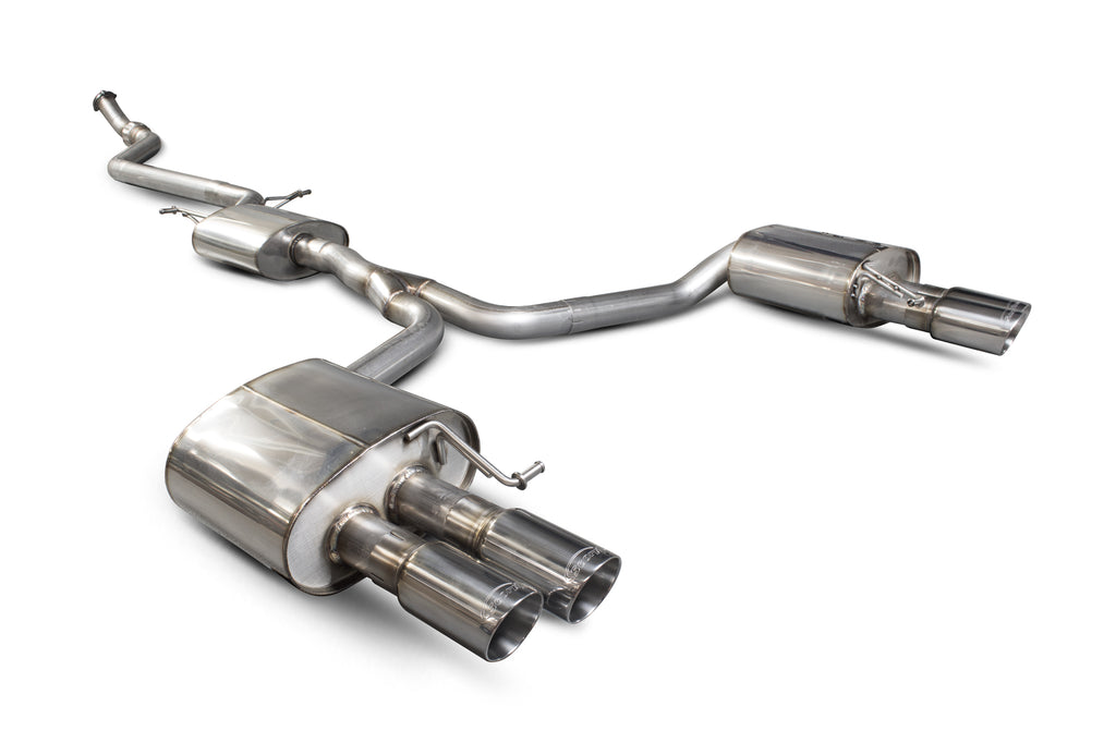 Audi A5 B8 2.0 TFSI - Resonated cat-back system