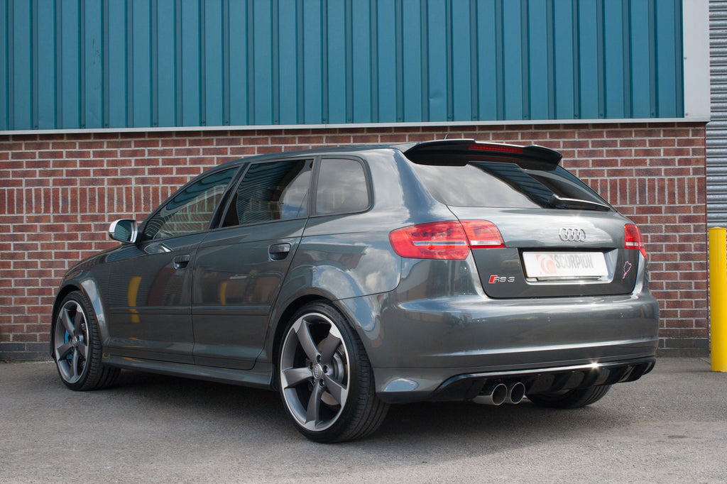 Audi RS3 8P - Turbo-back system with high flow sports catalyst
