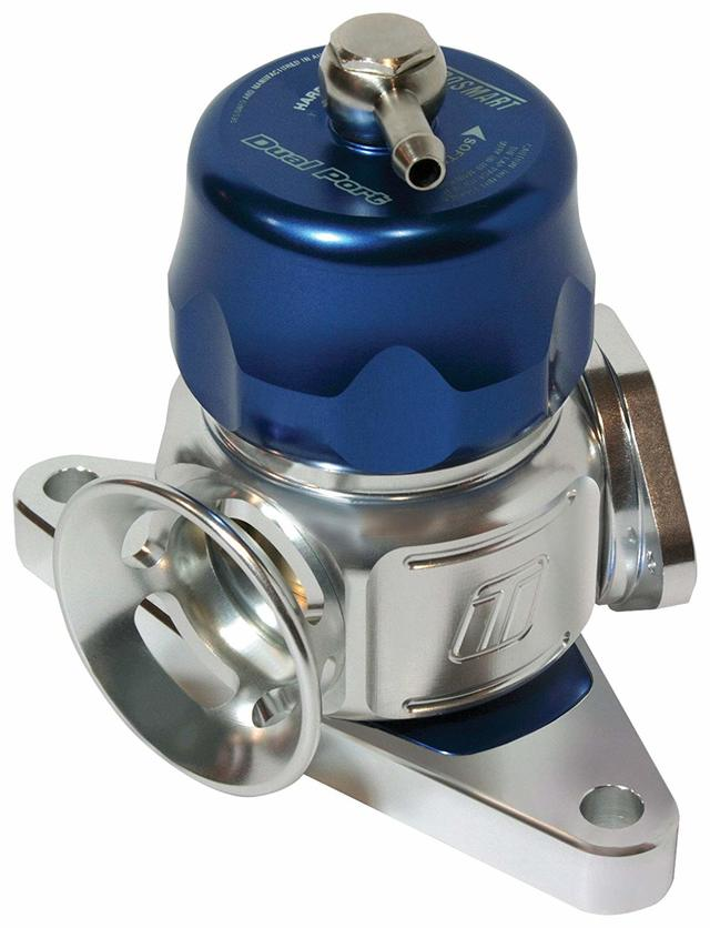BOV Dual Port Subaru-Blue