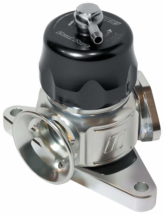 BOV Dual Port Subaru-Black