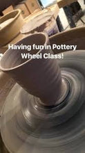 Load image into Gallery viewer, Kids or Family Potters Wheel Class APRIL - JUNE